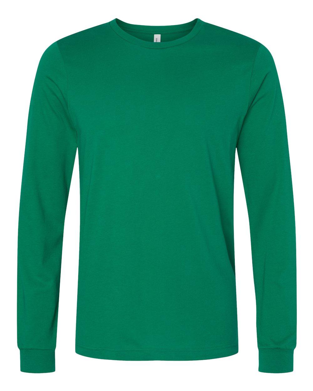 Bella-Canvas-Mens-Blank-Top-Long-Sleeve-Jersey-Tee-T-Shirt-3501-up-to-3XL thumbnail 39