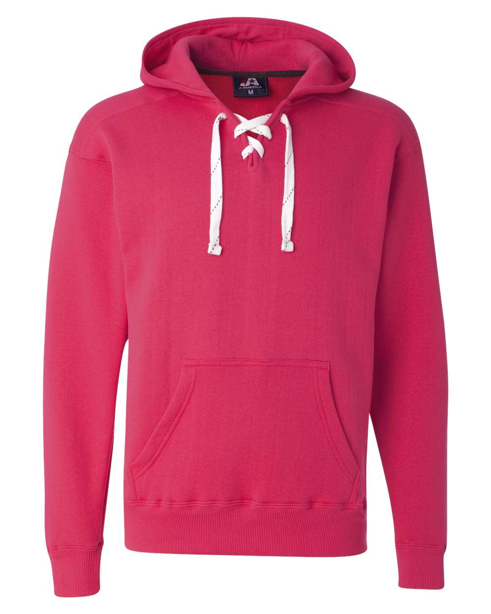 J-America-Mens-Blank-Sport-Lace-Hooded-Sweatshirt-8830-up-to-3XL thumbnail 30