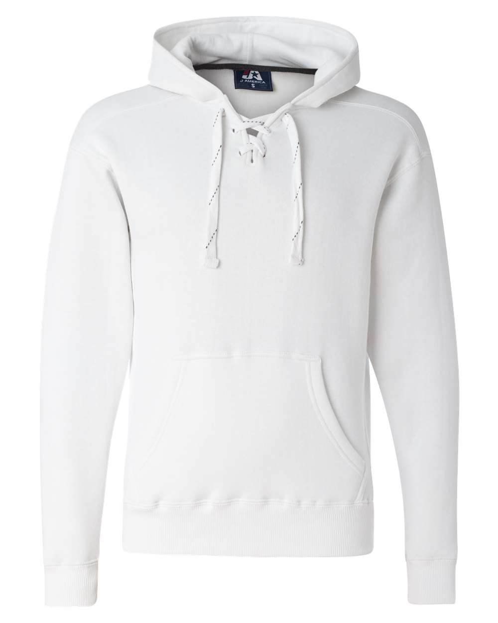 J-America-Mens-Blank-Sport-Lace-Hooded-Sweatshirt-8830-up-to-3XL thumbnail 27