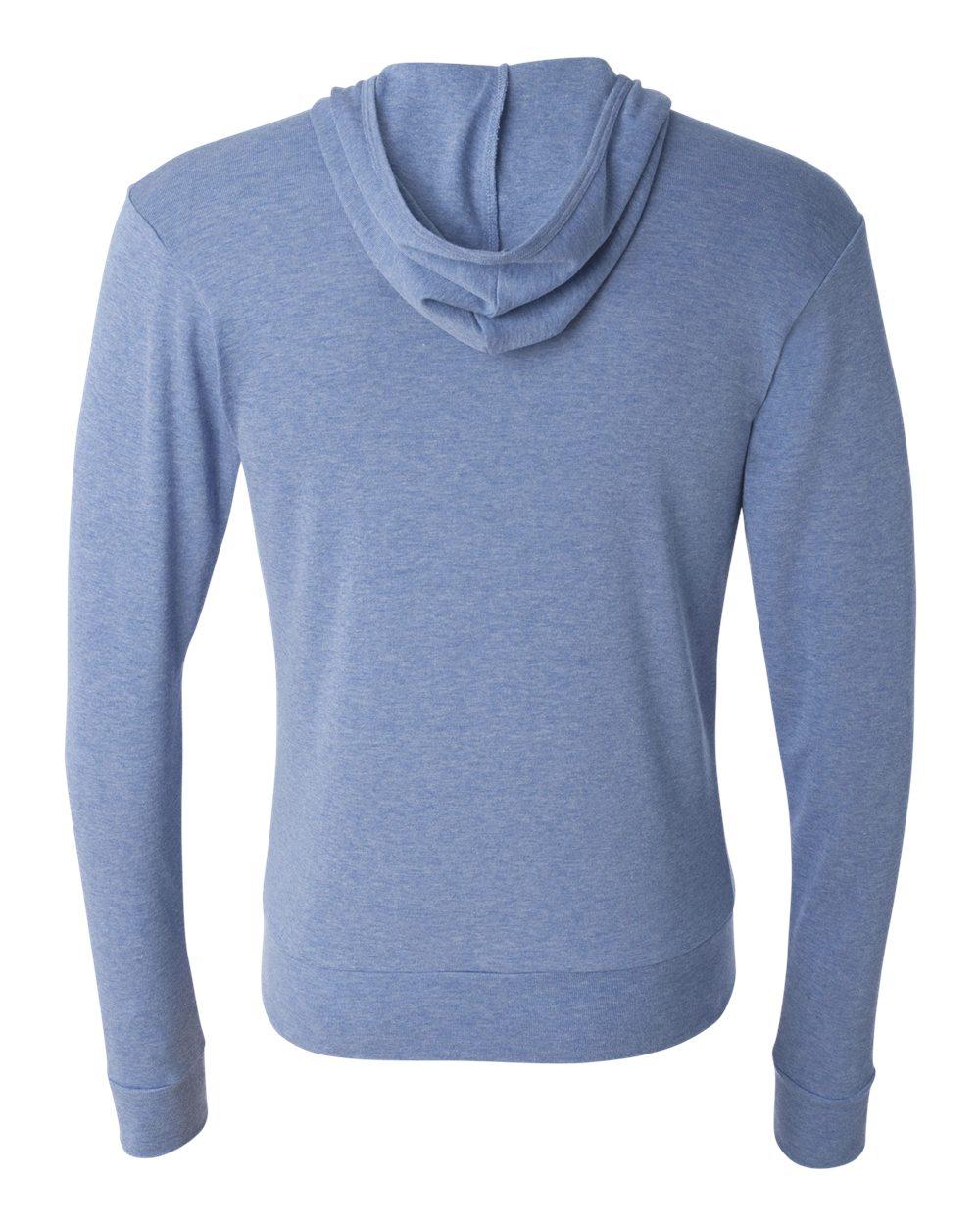 Bella-Canvas-Unisex-Triblend-Lightweight-Hooded-Full-Zip-T-Shirt-3939-upto-2XL thumbnail 7