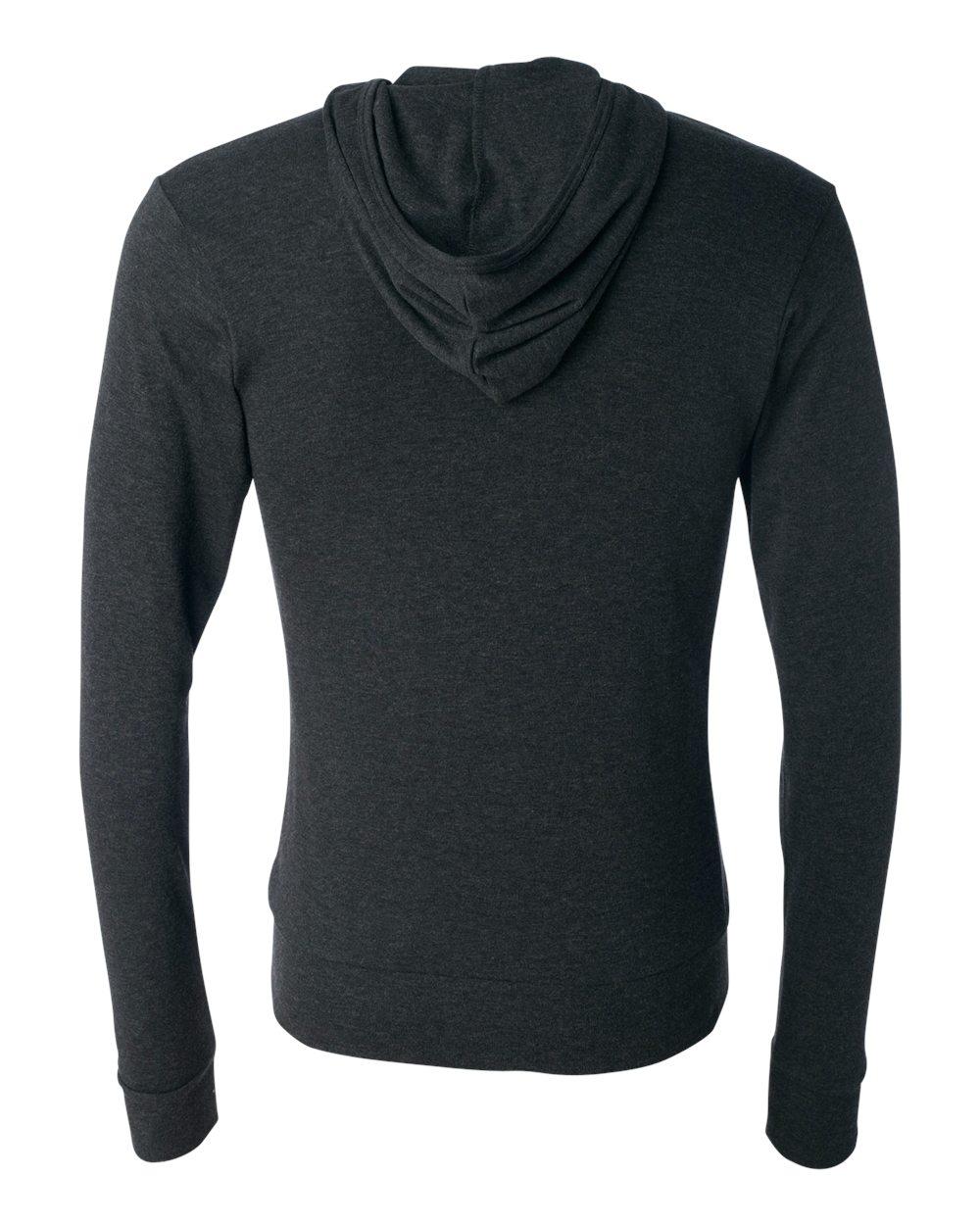 Bella-Canvas-Unisex-Triblend-Lightweight-Hooded-Full-Zip-T-Shirt-3939-upto-2XL thumbnail 10