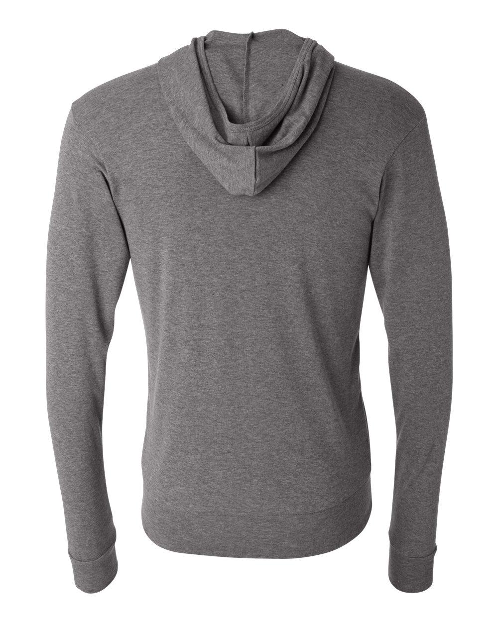 Bella-Canvas-Unisex-Triblend-Lightweight-Hooded-Full-Zip-T-Shirt-3939-upto-2XL thumbnail 16