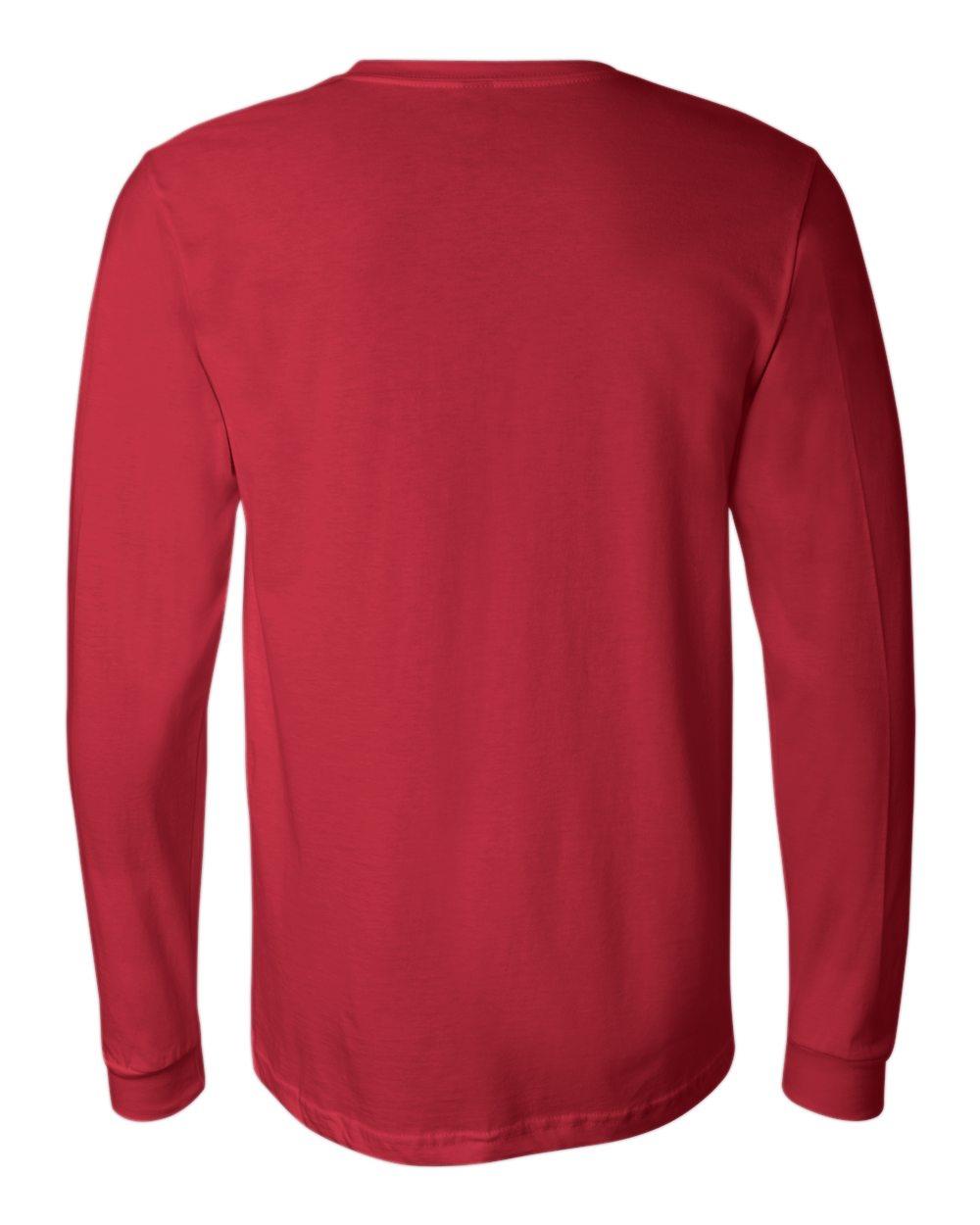 Bella-Canvas-Mens-Blank-Top-Long-Sleeve-Jersey-Tee-T-Shirt-3501-up-to-3XL thumbnail 98