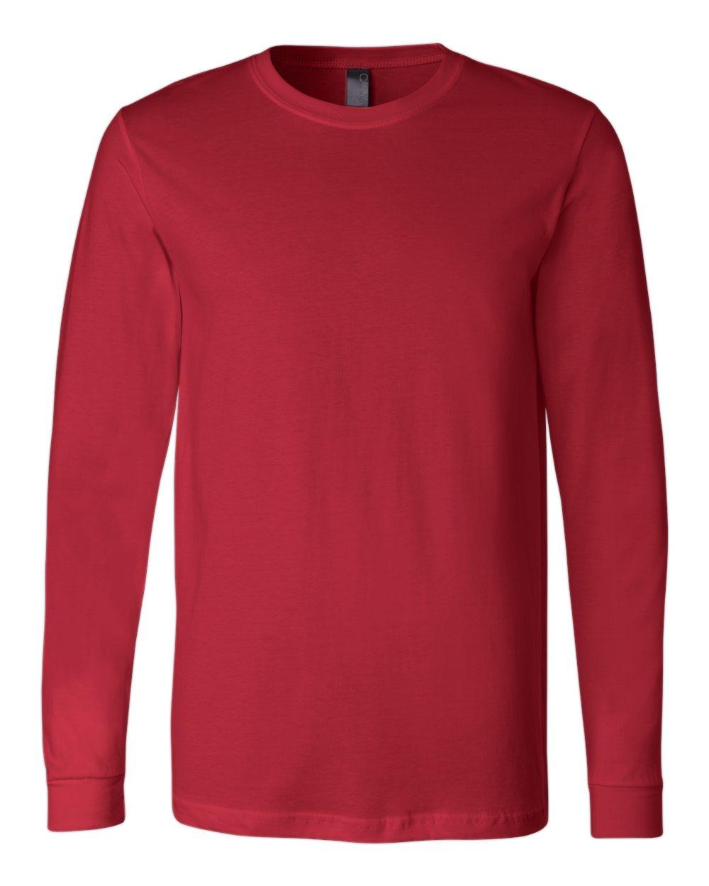 Bella-Canvas-Mens-Blank-Top-Long-Sleeve-Jersey-Tee-T-Shirt-3501-up-to-3XL thumbnail 97