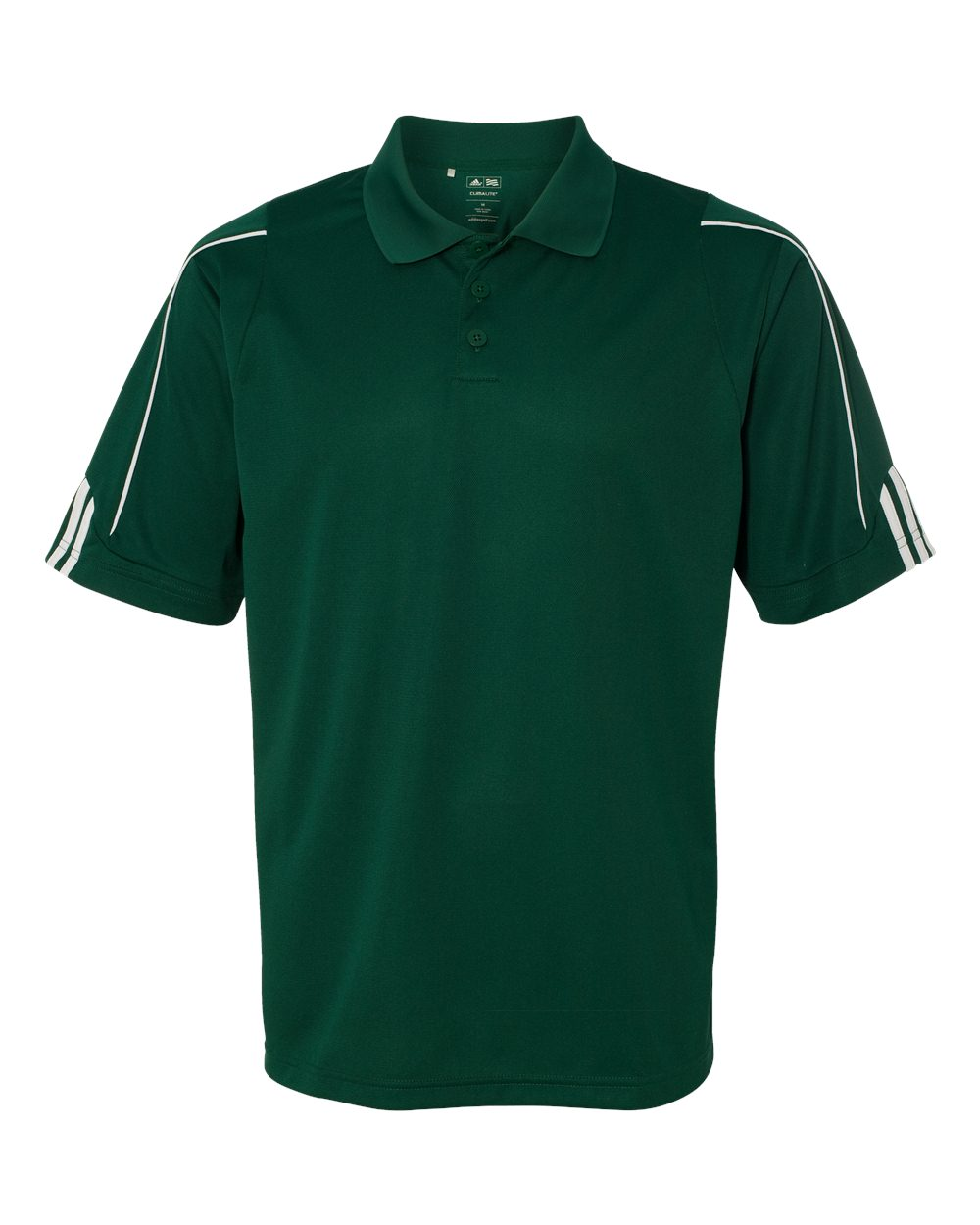 Adidas-Mens-Climalite-3-Stripes-Cuff-Sport-Shirt-A76-up-to-4XL miniature 9