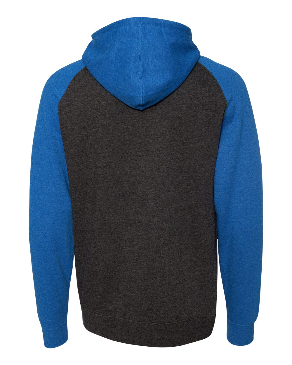 Independent-Trading-Co-Mens-Raglan-Hooded-Pullover-Sweatshirt-IND40RP-up-to-3XL miniature 16