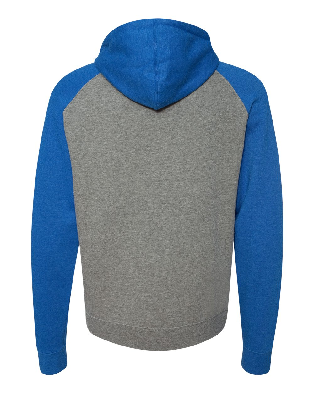 Independent-Trading-Co-Mens-Raglan-Hooded-Pullover-Sweatshirt-IND40RP-up-to-3XL miniature 31