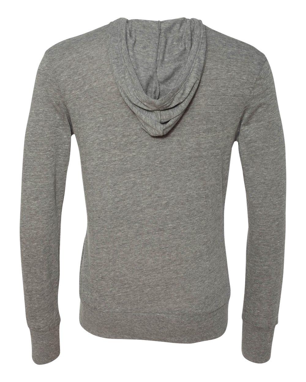 Alternative-Mens-Eco-Jersey-Hooded-Full-Zip-T-Shirt-Blank-Plain-1970e1-up-to-3XL miniature 10