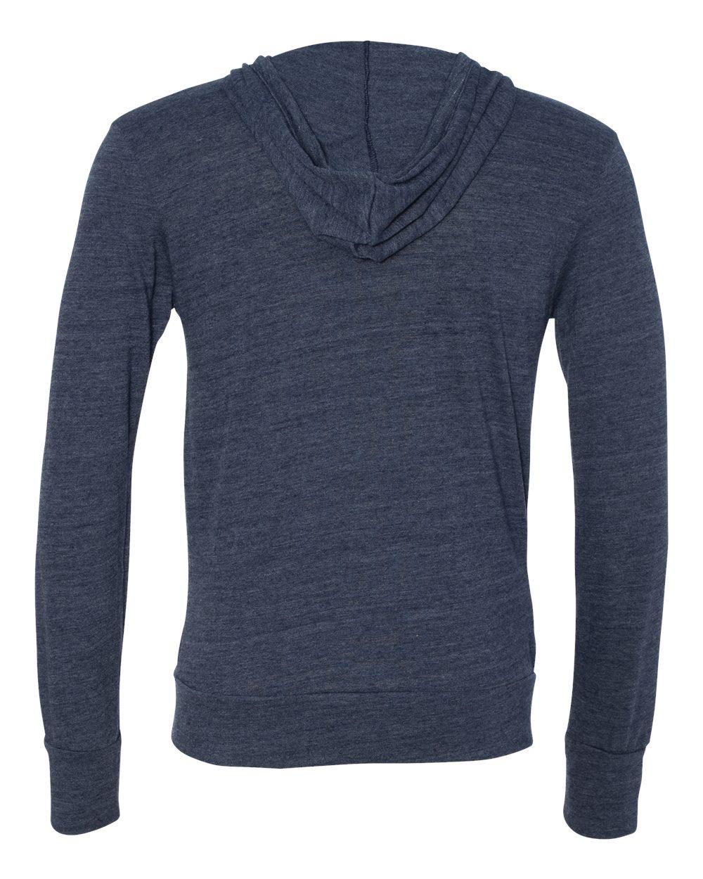 Alternative-Mens-Eco-Jersey-Hooded-Full-Zip-T-Shirt-Blank-Plain-1970e1-up-to-3XL miniature 16