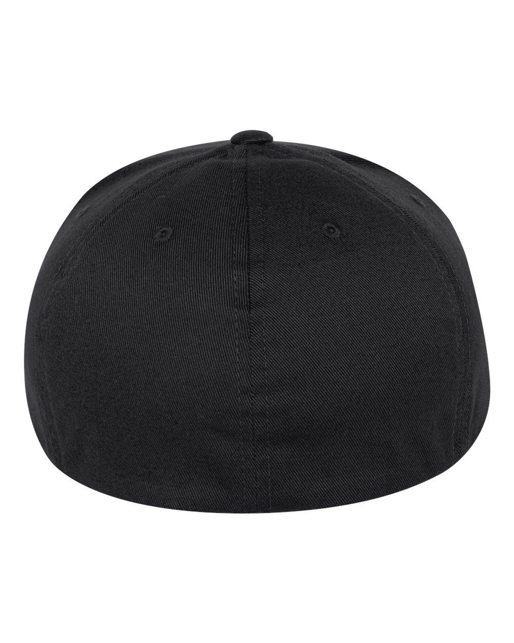 Flexfit Mens Pro-Baseball On Field Flat Bill Cap Hat 6297F six-panel
