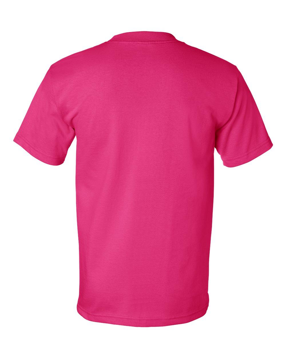 Bayside-Mens-Cotton-Blank-USA-Made-Short-Sleeve-T-Shirt-5100-up-to-5XL thumbnail 13