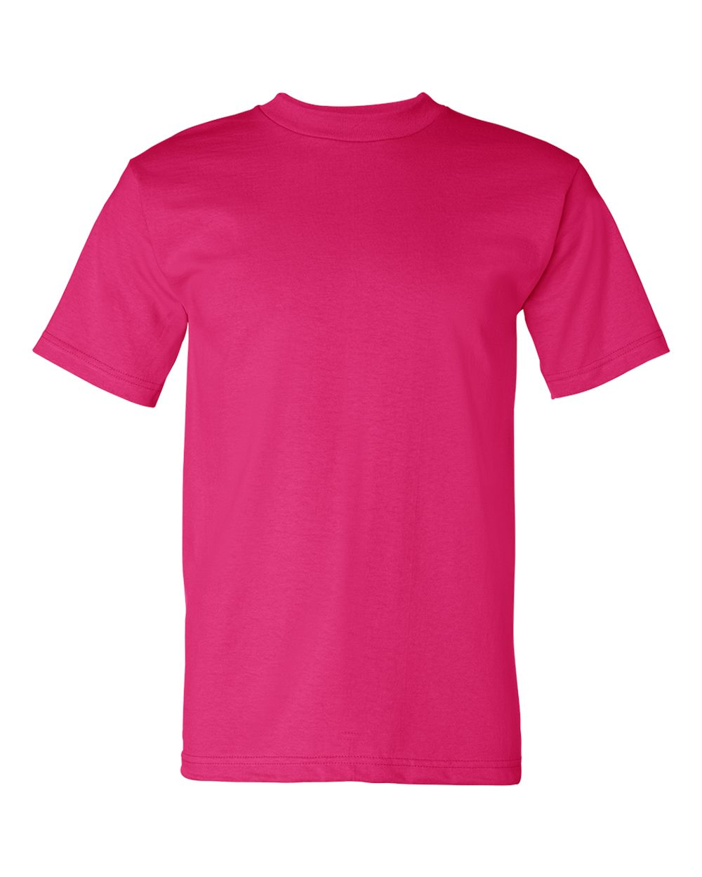 Bayside-Mens-Cotton-Blank-USA-Made-Short-Sleeve-T-Shirt-5100-up-to-5XL thumbnail 12