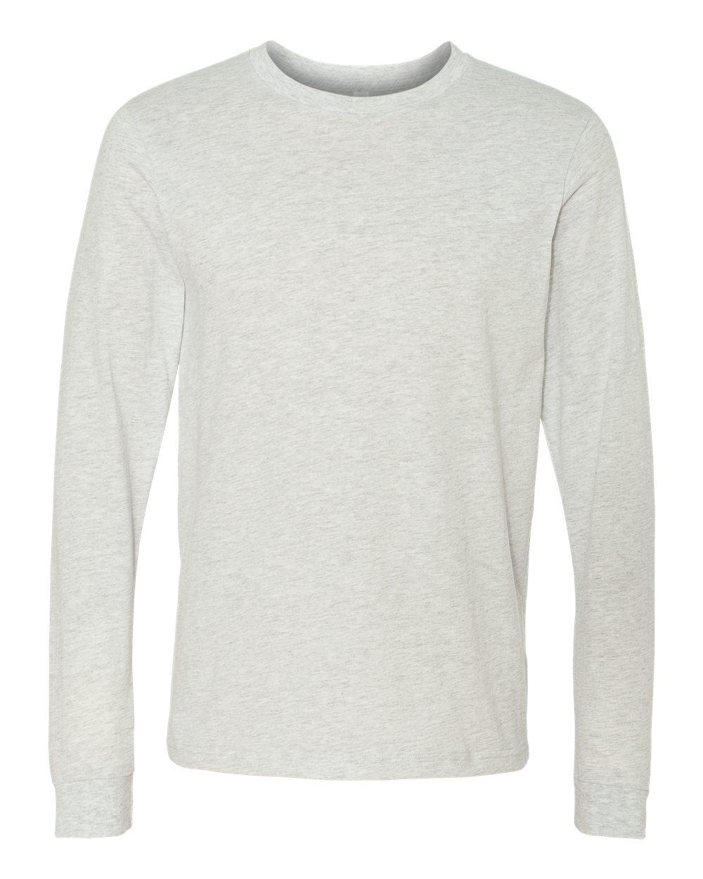 Bella-Canvas-Mens-Blank-Top-Long-Sleeve-Jersey-Tee-T-Shirt-3501-up-to-3XL thumbnail 6