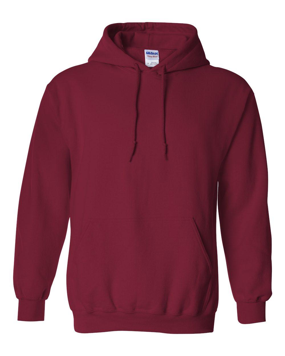 Gildan-Mens-Blank-Hoodie-Heavy-Blend-Hooded-Sweatshirt-Solid-18500-up-to-5XL thumbnail 12