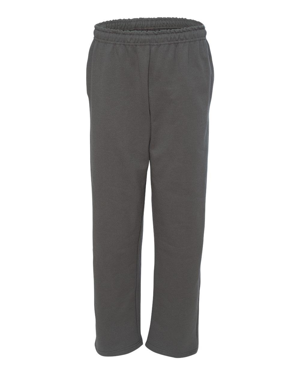 Gildan-Mens-DryBlend-Open-Bottom-Pocket-Sweatpants-12300-up-to-2XL thumbnail 9