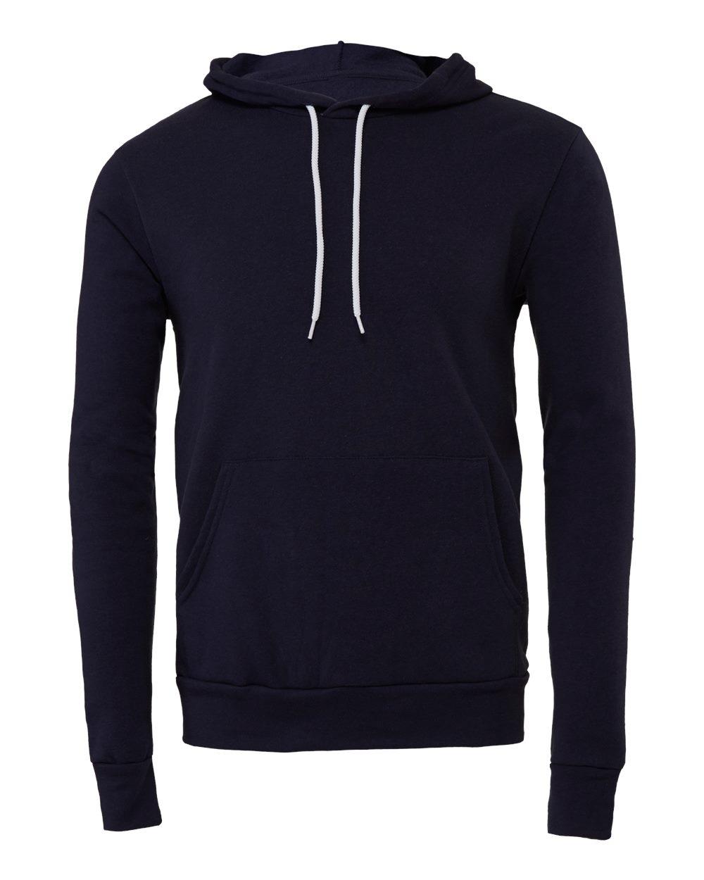 Bella-Canvas-Unisex-Sponge-Hooded-Pullover-Sweatshirt-Blank-3719-up-to-2XL thumbnail 79