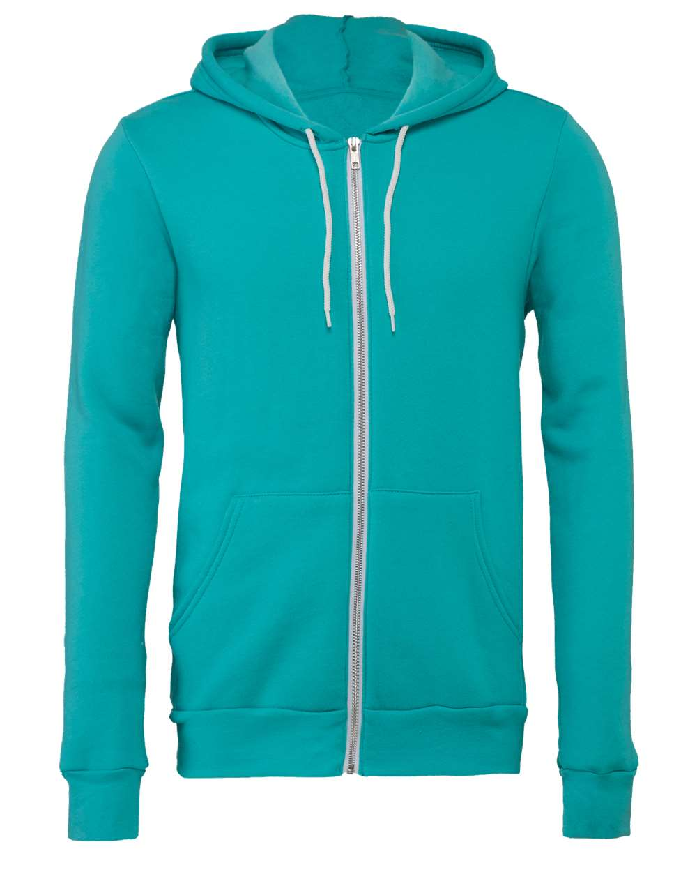 Bella-Canvas-Unisex-Full-Zip-Up-Hooded-Sweatshirt-Blank-Hoodie-3739-up-to-3XL thumbnail 85