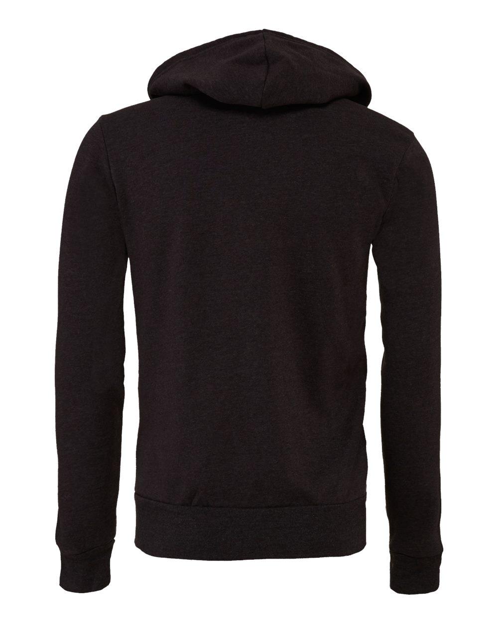 Bella-Canvas-Unisex-Full-Zip-Up-Hooded-Sweatshirt-Blank-Hoodie-3739-up-to-3XL thumbnail 19