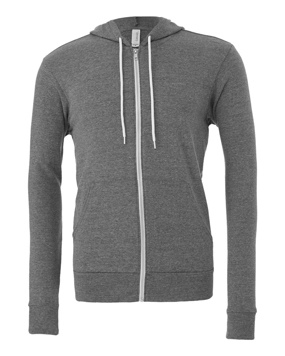 Bella-Canvas-Unisex-Full-Zip-Up-Hooded-Sweatshirt-Blank-Hoodie-3739-up-to-3XL thumbnail 21