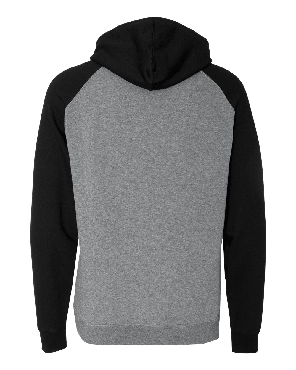 Independent-Trading-Co-Mens-Raglan-Hooded-Pullover-Sweatshirt-IND40RP-up-to-3XL miniature 19