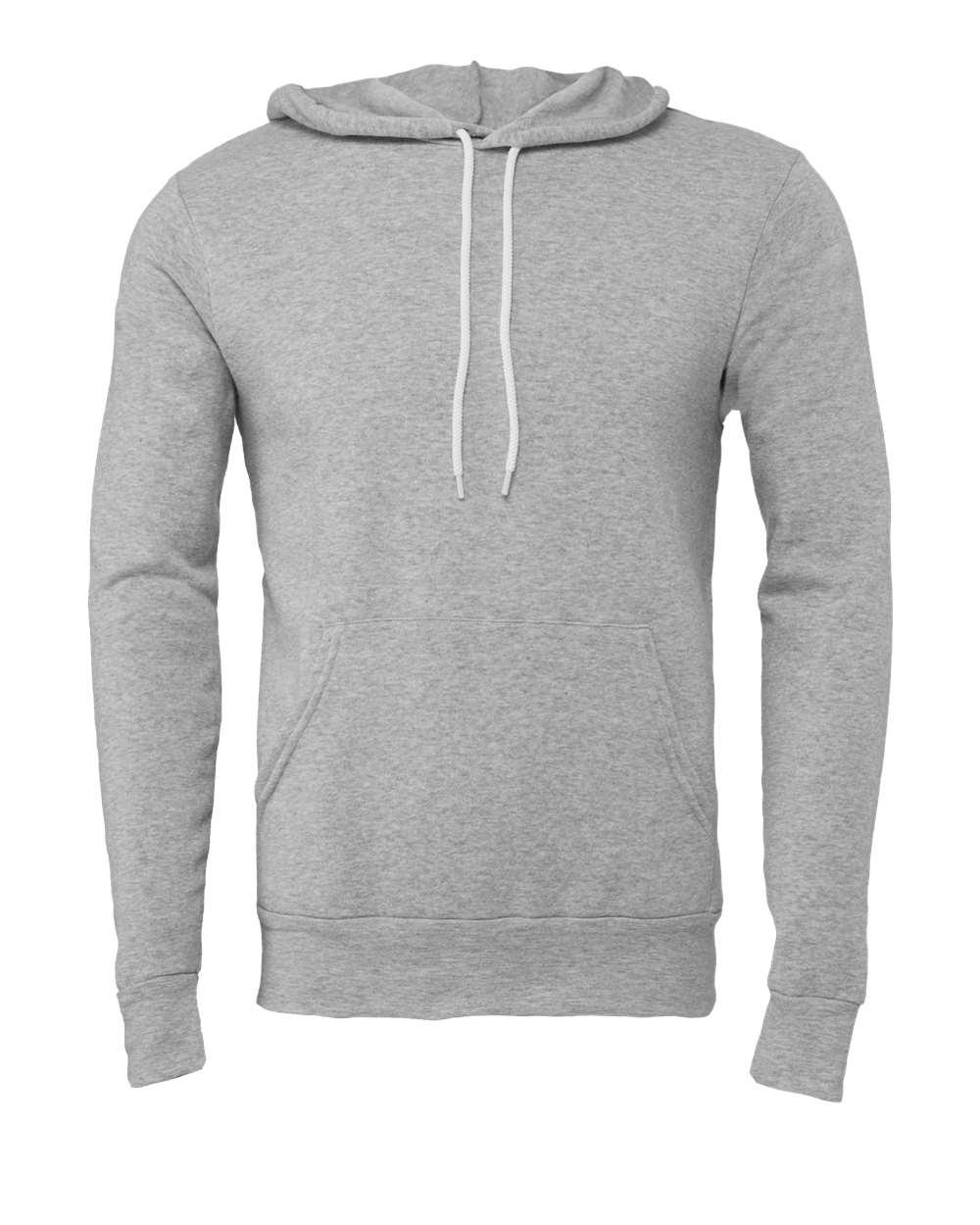 Bella-Canvas-Unisex-Sponge-Hooded-Pullover-Sweatshirt-Blank-3719-up-to-2XL thumbnail 8