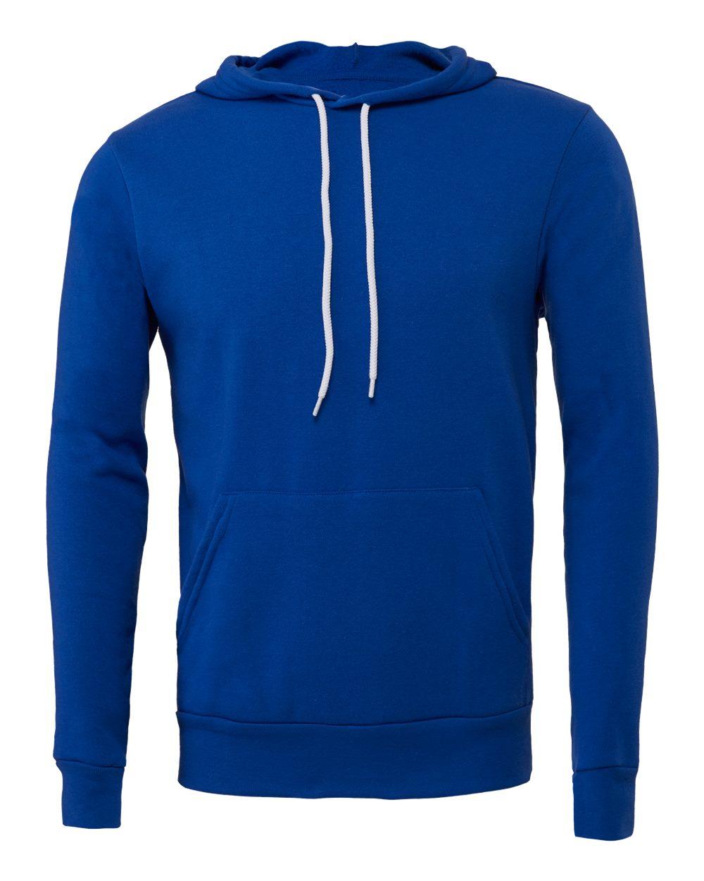 Bella-Canvas-Unisex-Sponge-Hooded-Pullover-Sweatshirt-Blank-3719-up-to-2XL thumbnail 98
