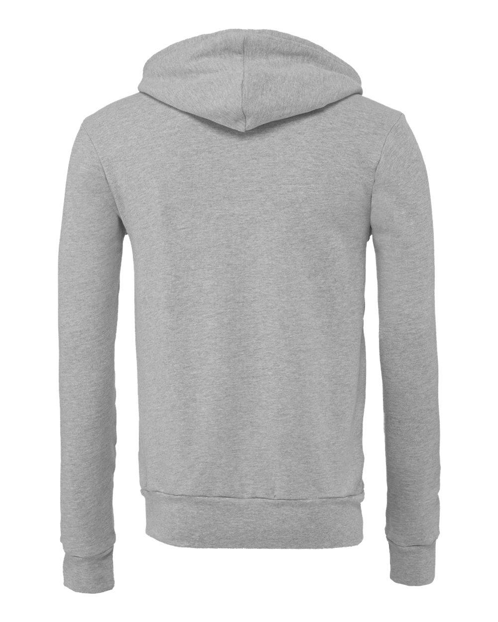 Bella-Canvas-Unisex-Full-Zip-Up-Hooded-Sweatshirt-Blank-Hoodie-3739-up-to-3XL thumbnail 9