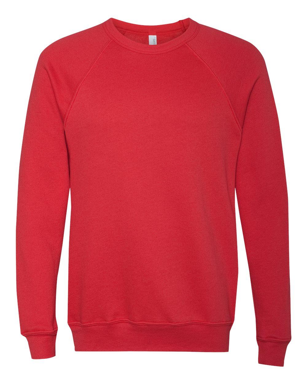 Bella-Canvas-Unisex-Sponge-Fleece-Crewneck-Sweatshirt-Top-Blank-3901-up-to-2XL thumbnail 60