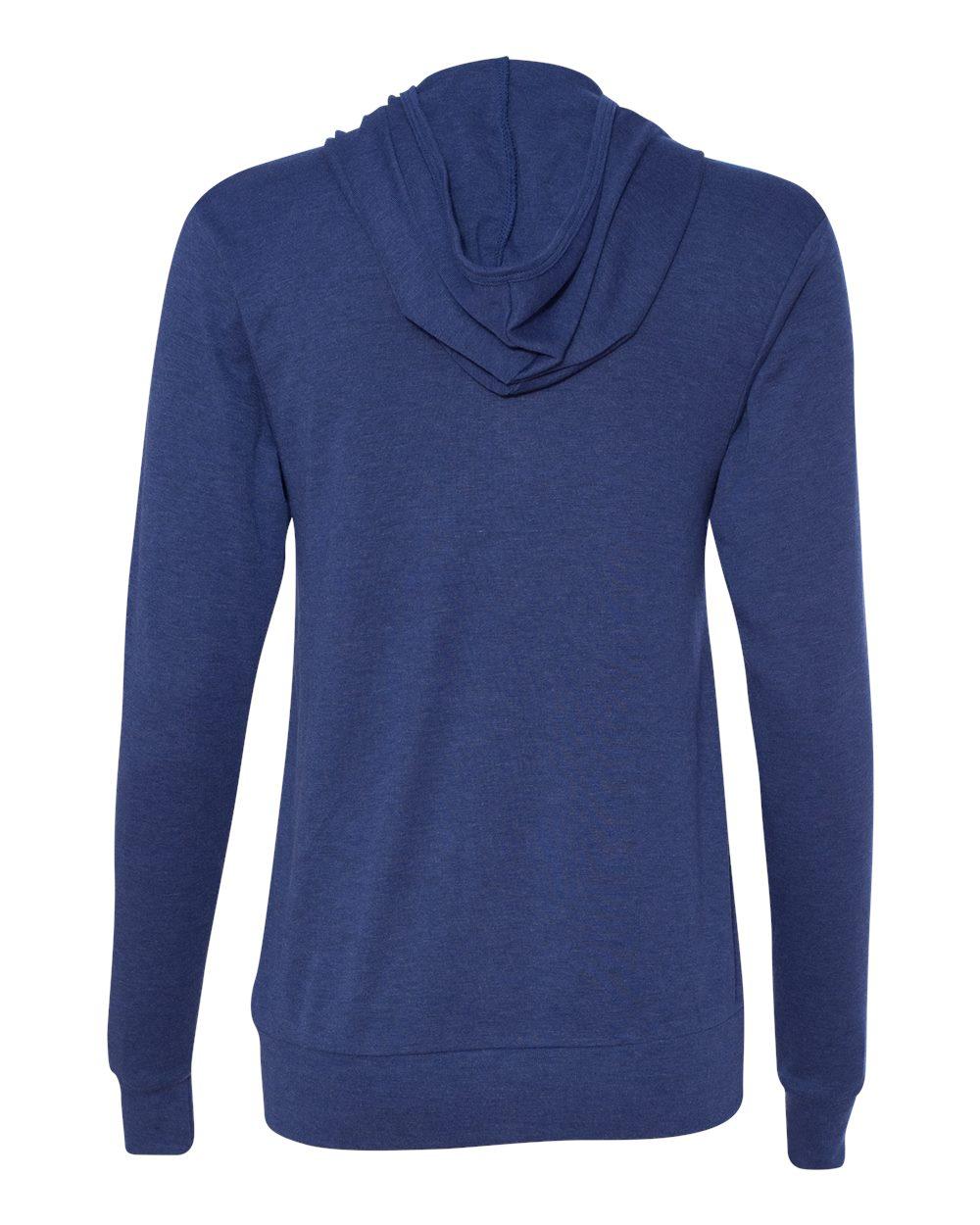 Bella-Canvas-Unisex-Triblend-Lightweight-Hooded-Full-Zip-T-Shirt-3939-upto-2XL thumbnail 22