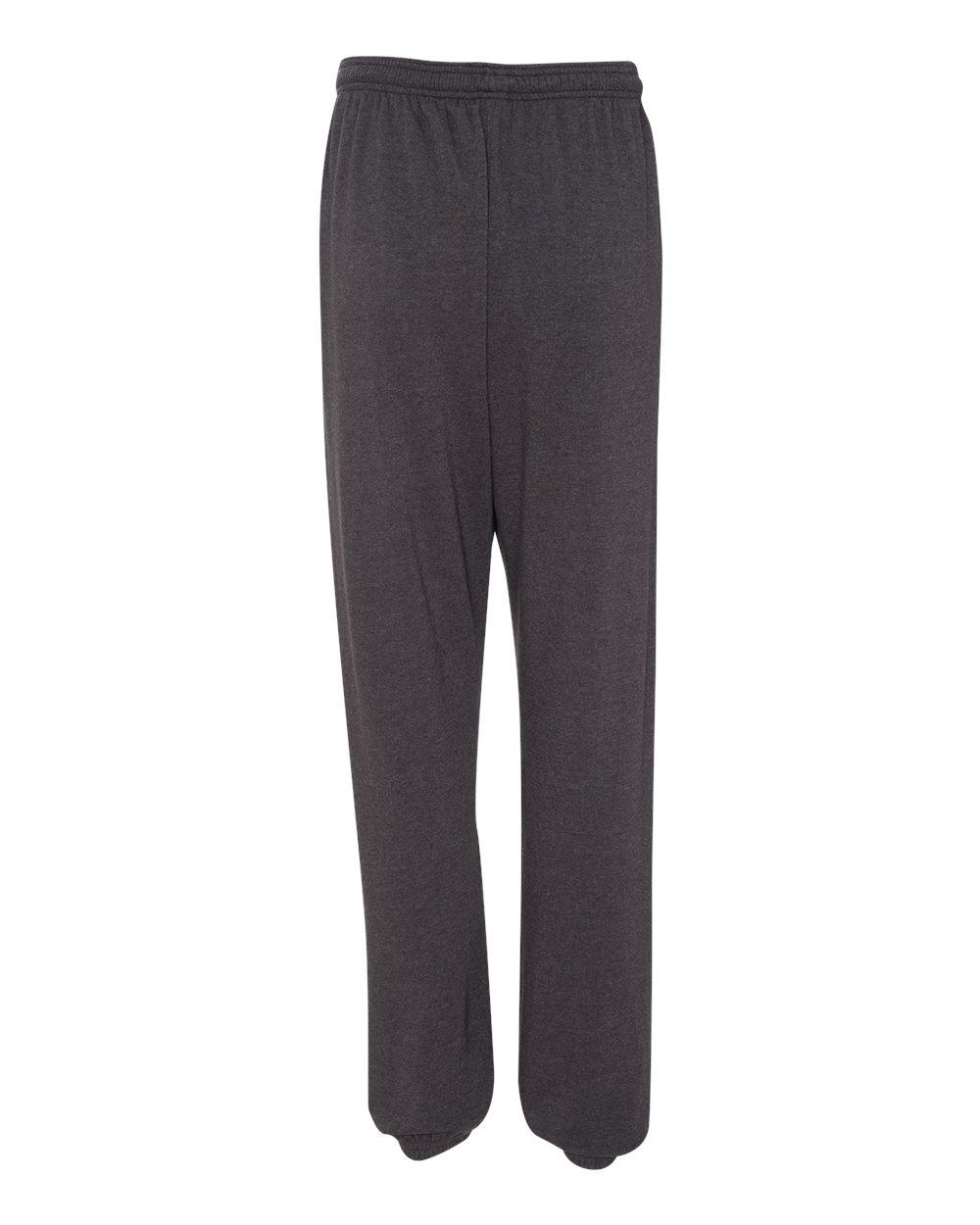 Bella-Canvas-Unisex-Long-Scrunch-Fleece-Pants-Workout-3737-up-to-2XL thumbnail 10