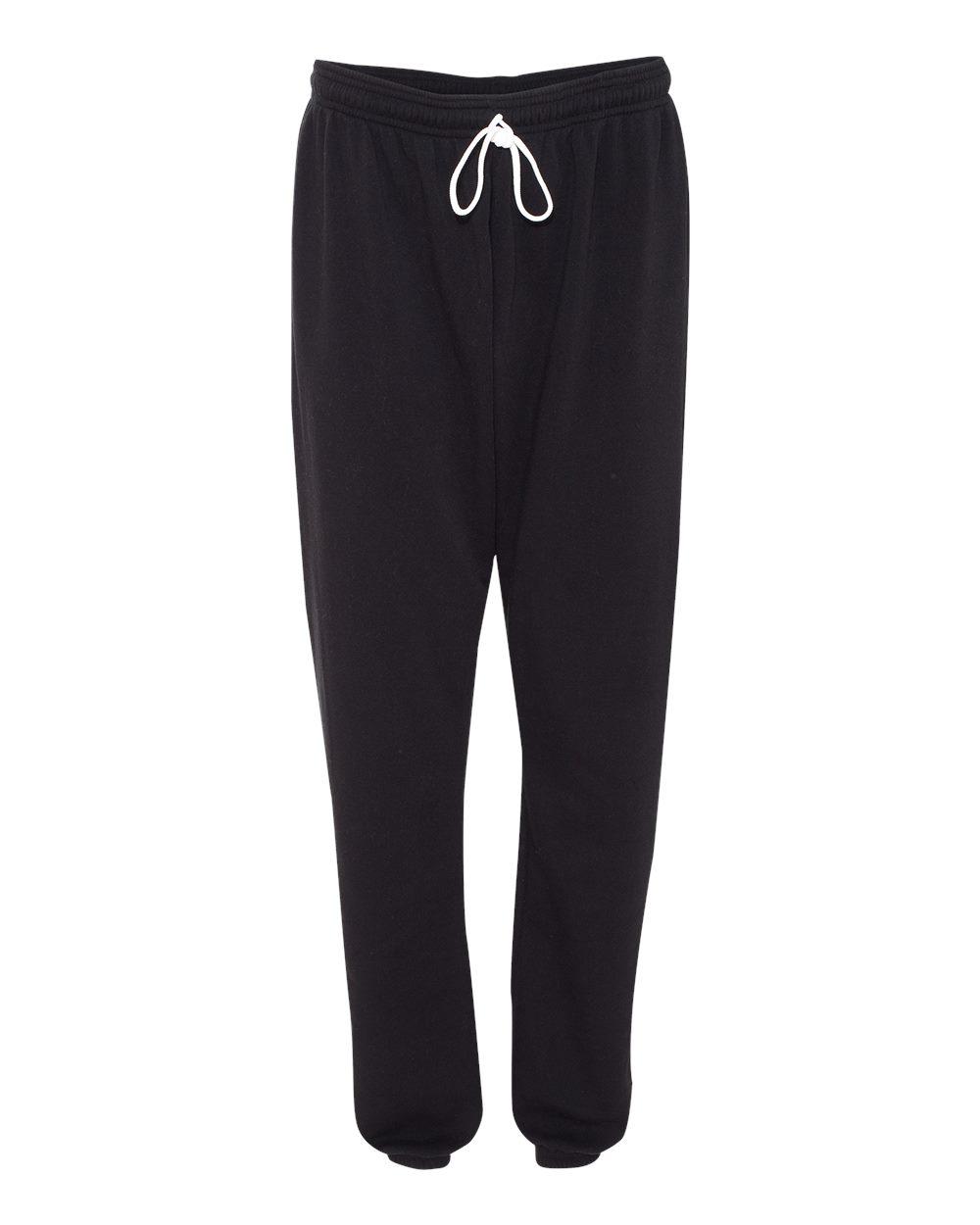 Bella-Canvas-Unisex-Long-Scrunch-Fleece-Pants-Workout-3737-up-to-2XL thumbnail 6