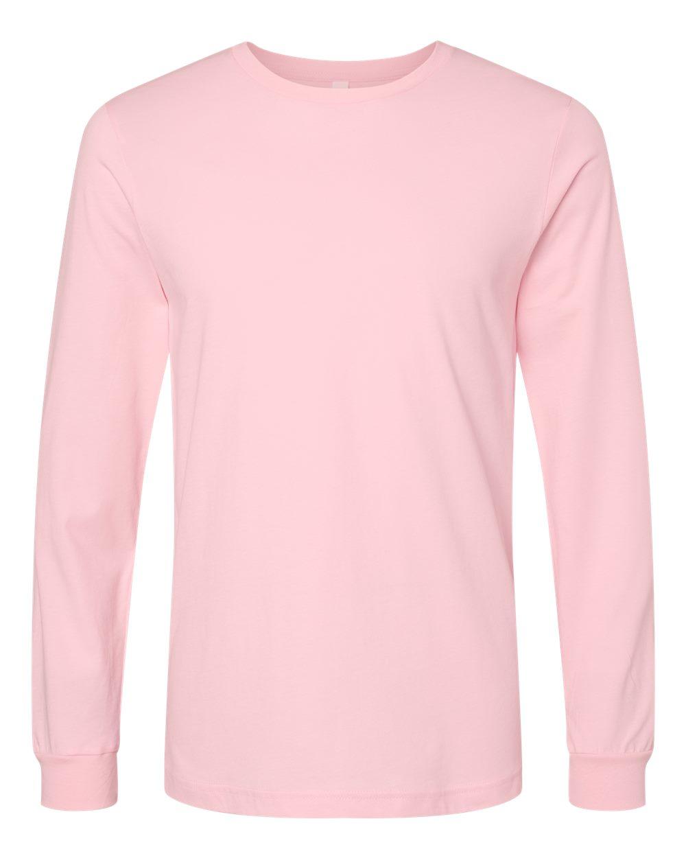 Bella-Canvas-Mens-Blank-Top-Long-Sleeve-Jersey-Tee-T-Shirt-3501-up-to-3XL thumbnail 49