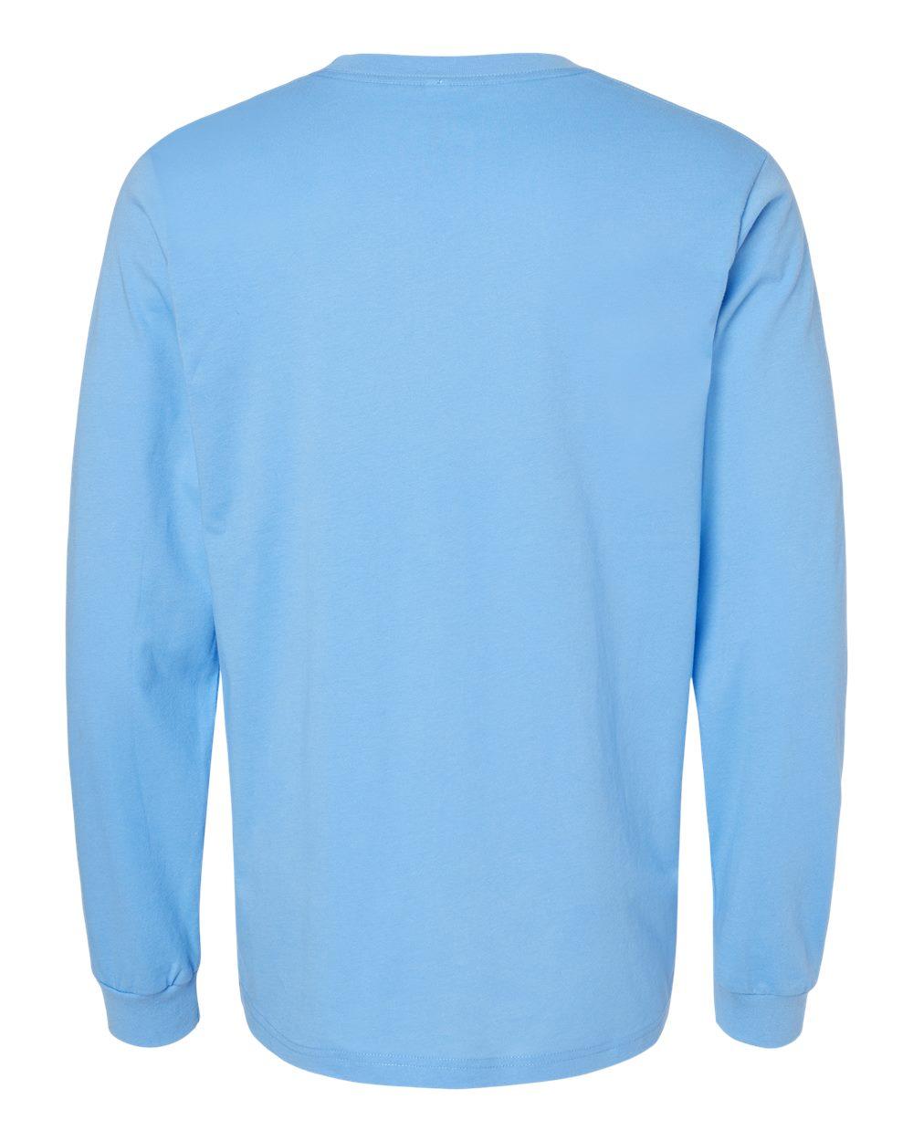 Bella-Canvas-Mens-Blank-Top-Long-Sleeve-Jersey-Tee-T-Shirt-3501-up-to-3XL thumbnail 34