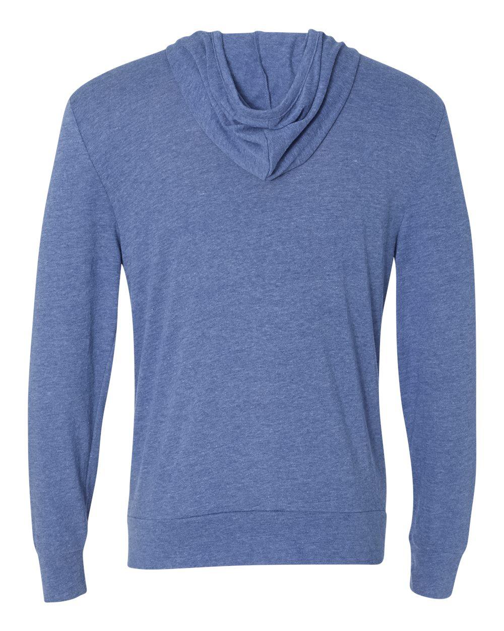 Alternative-Mens-Eco-Jersey-Hooded-Full-Zip-T-Shirt-Blank-Plain-1970e1-up-to-3XL miniature 13