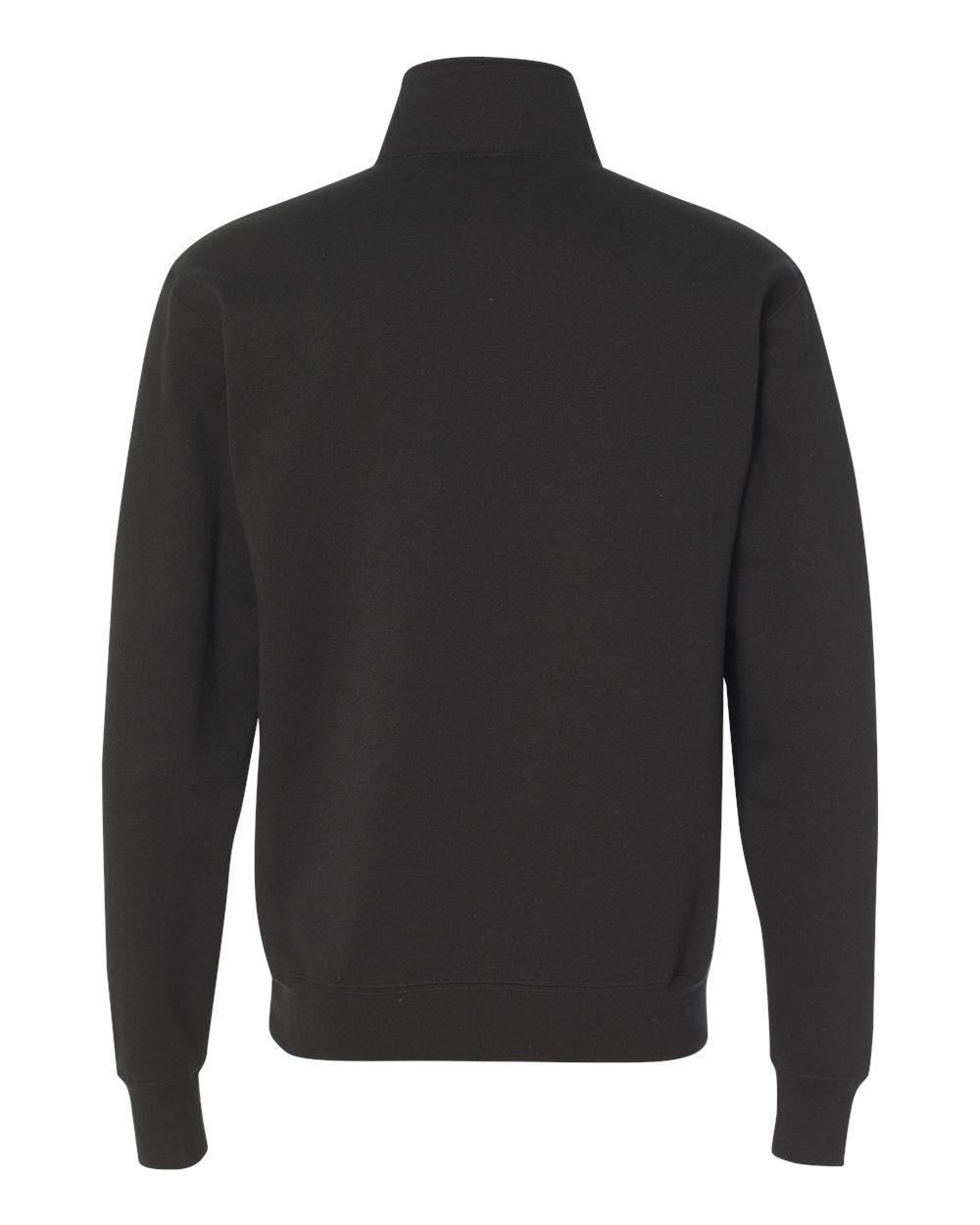 Champion-Mens-Double-Dry-Eco-Quarter-Zip-Pullover-Sweatshirt-S400-up-to-3XL miniature 7