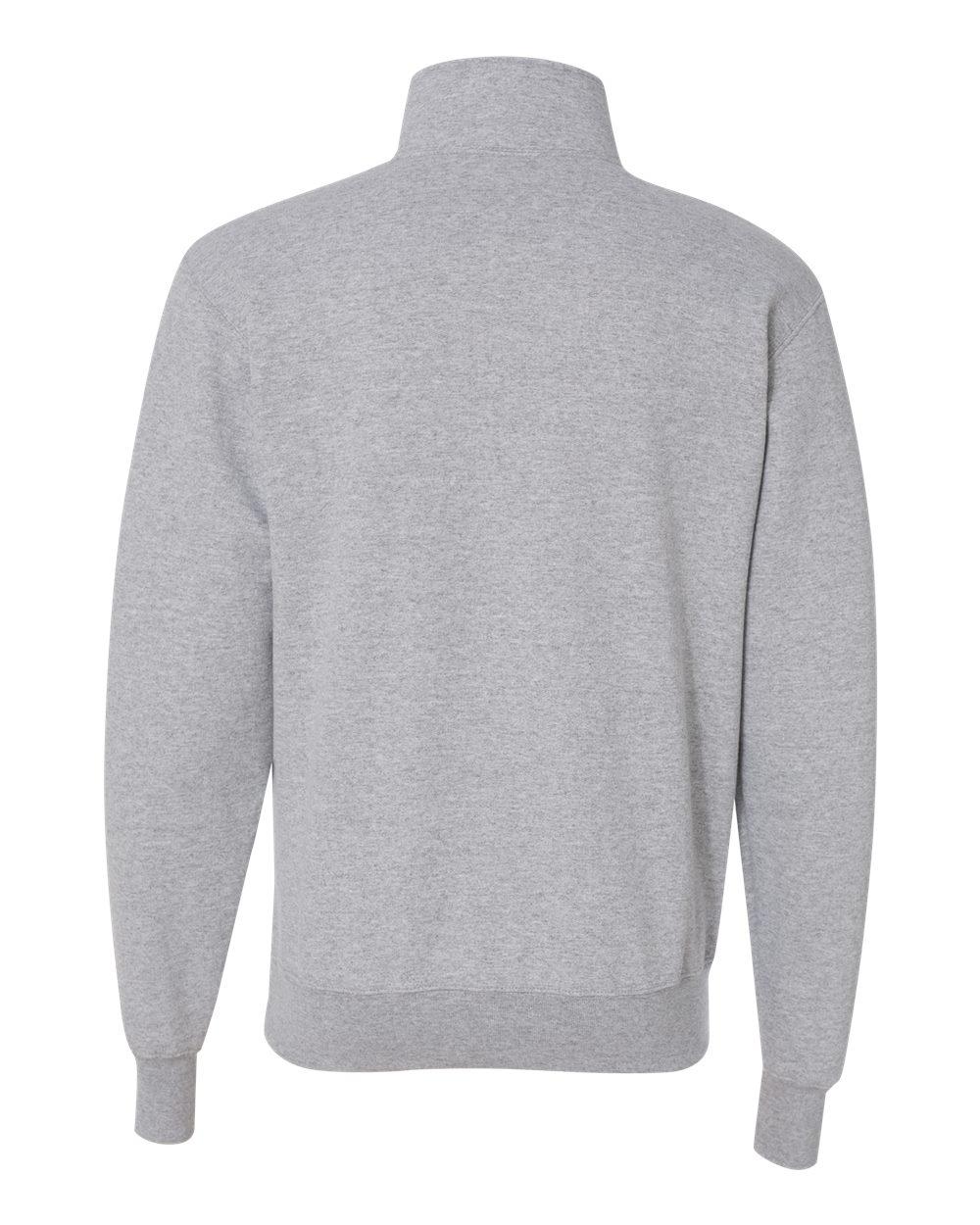 Champion-Mens-Double-Dry-Eco-Quarter-Zip-Pullover-Sweatshirt-S400-up-to-3XL miniature 10
