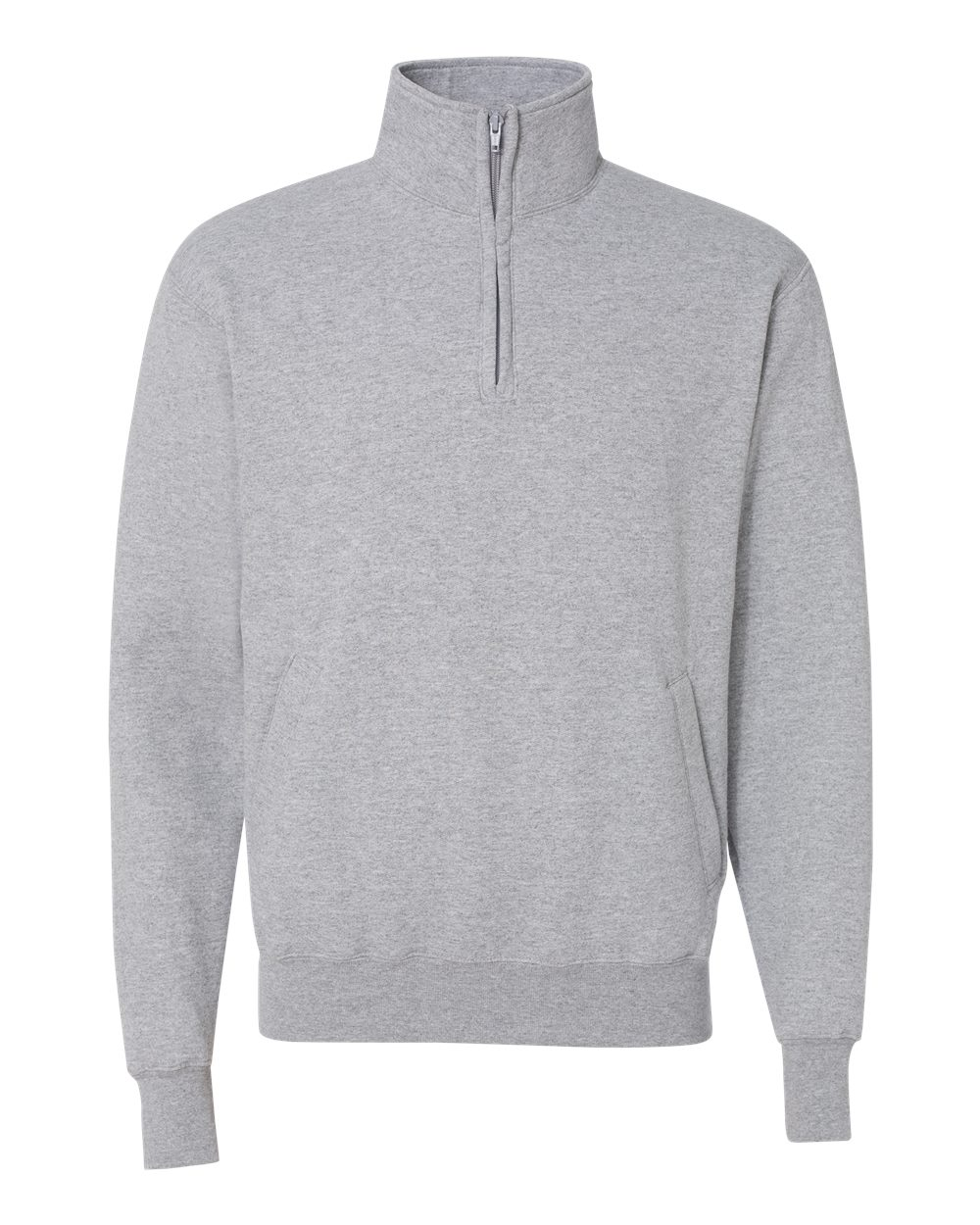 Champion-Mens-Double-Dry-Eco-Quarter-Zip-Pullover-Sweatshirt-S400-up-to-3XL miniature 9