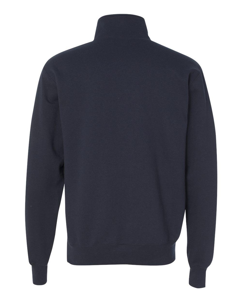 Champion-Mens-Double-Dry-Eco-Quarter-Zip-Pullover-Sweatshirt-S400-up-to-3XL miniature 13