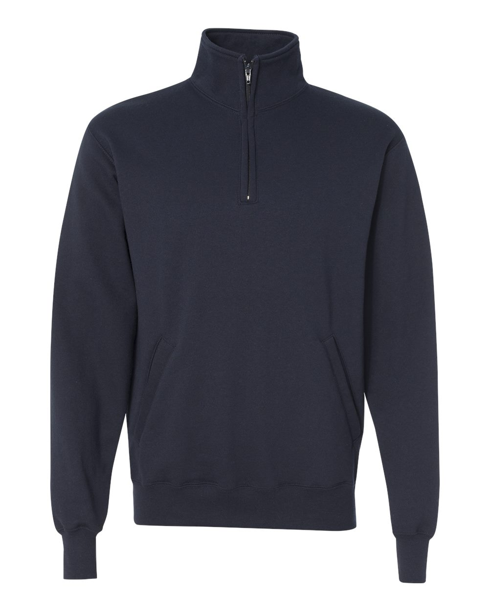 Champion-Mens-Double-Dry-Eco-Quarter-Zip-Pullover-Sweatshirt-S400-up-to-3XL miniature 12