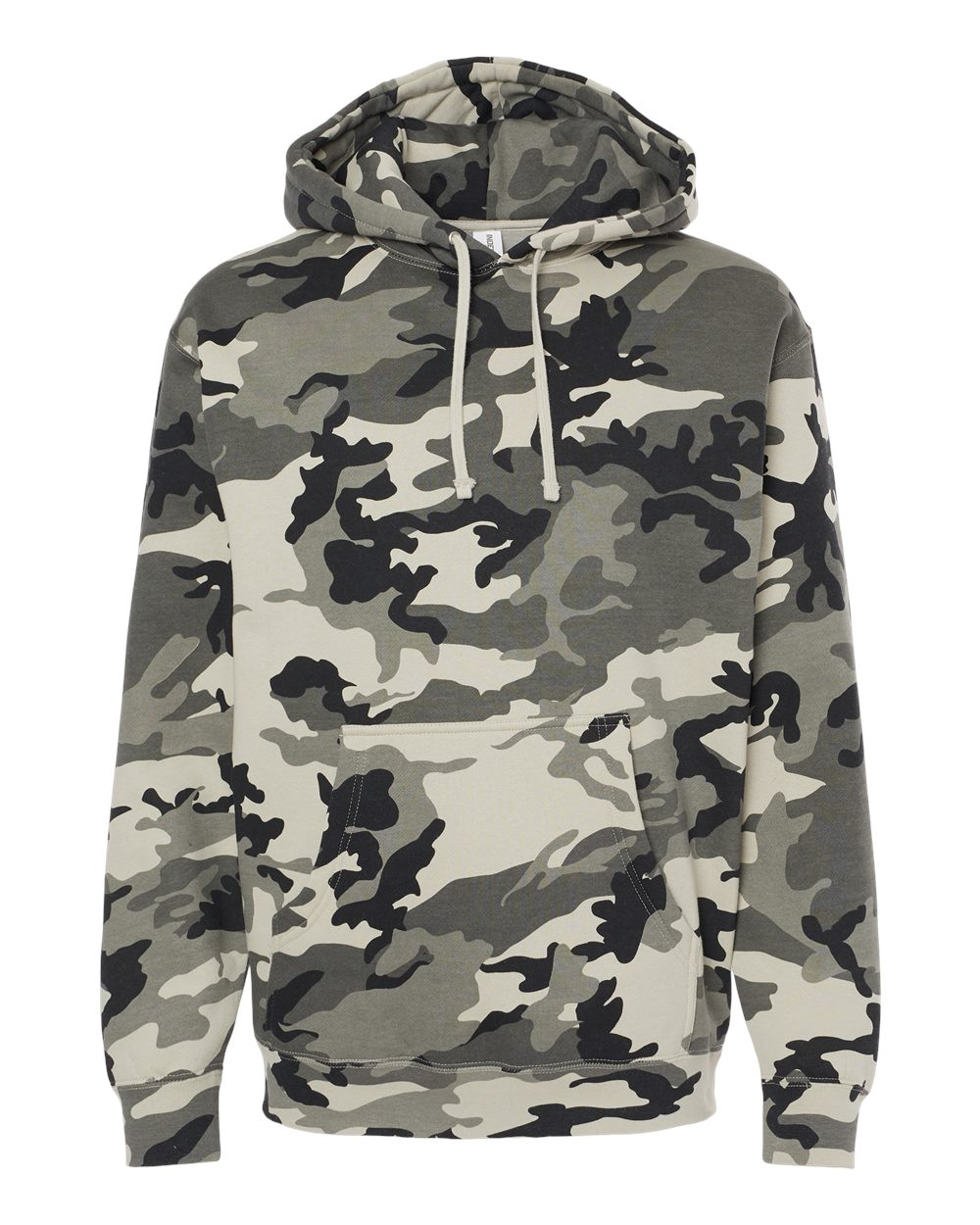 Independent-Trading-Co-Mens-Hooded-Pullover-Sweatshirt-IND4000-up-to-3XL miniature 81