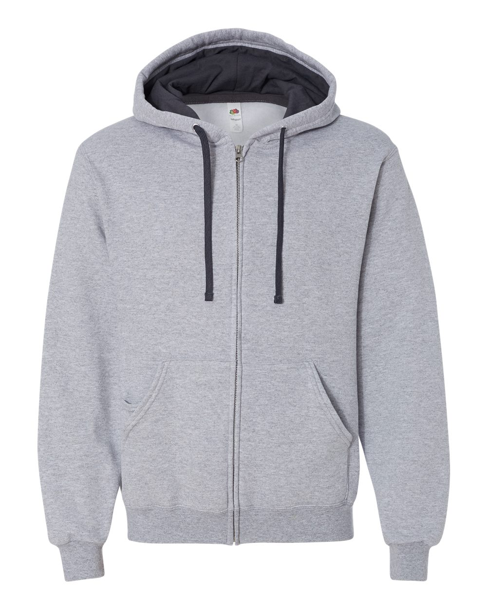 Fruit-of-the-Loom-Mens-Sofspun-Hooded-Full-Zip-Sweatshirt-Blank-SF73R-up-to-3XL thumbnail 9