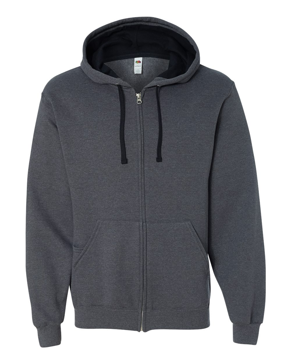 Fruit-of-the-Loom-Mens-Sofspun-Hooded-Full-Zip-Sweatshirt-Blank-SF73R-up-to-3XL thumbnail 15