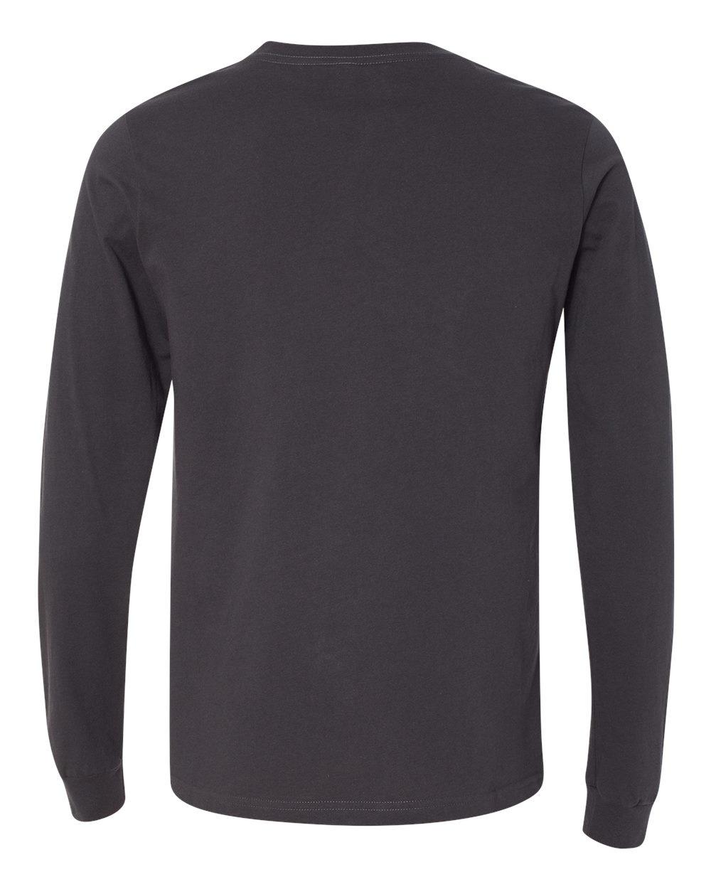 Bella-Canvas-Mens-Blank-Top-Long-Sleeve-Jersey-Tee-T-Shirt-3501-up-to-3XL thumbnail 37