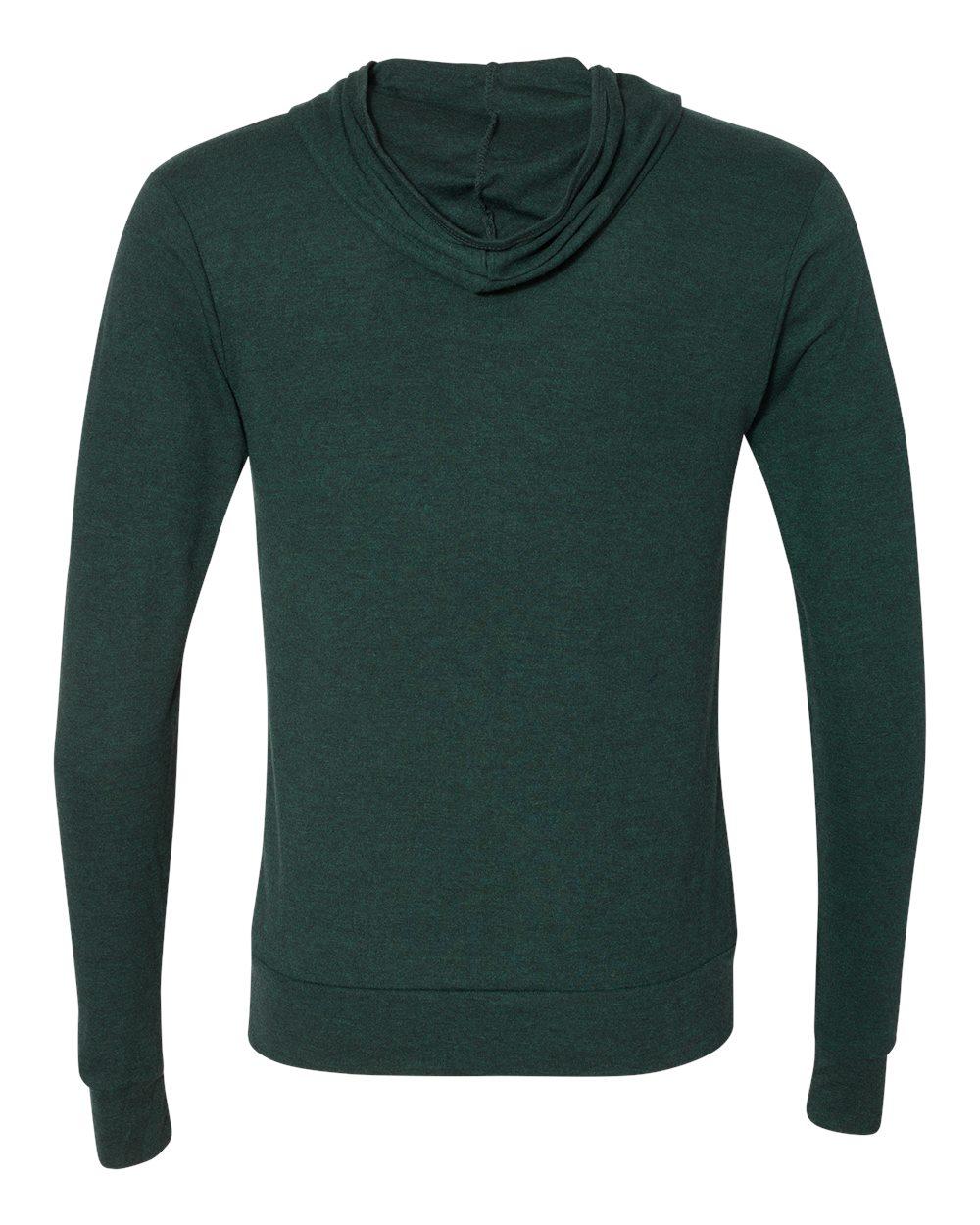 Bella-Canvas-Unisex-Triblend-Lightweight-Hooded-Full-Zip-T-Shirt-3939-upto-2XL thumbnail 13