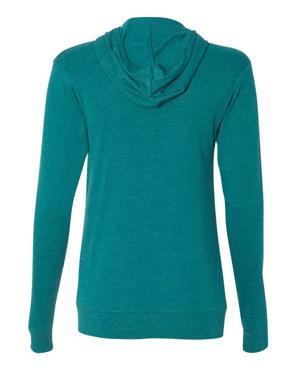 Bella-Canvas-Unisex-Triblend-Lightweight-Hooded-Full-Zip-T-Shirt-3939-upto-2XL thumbnail 34