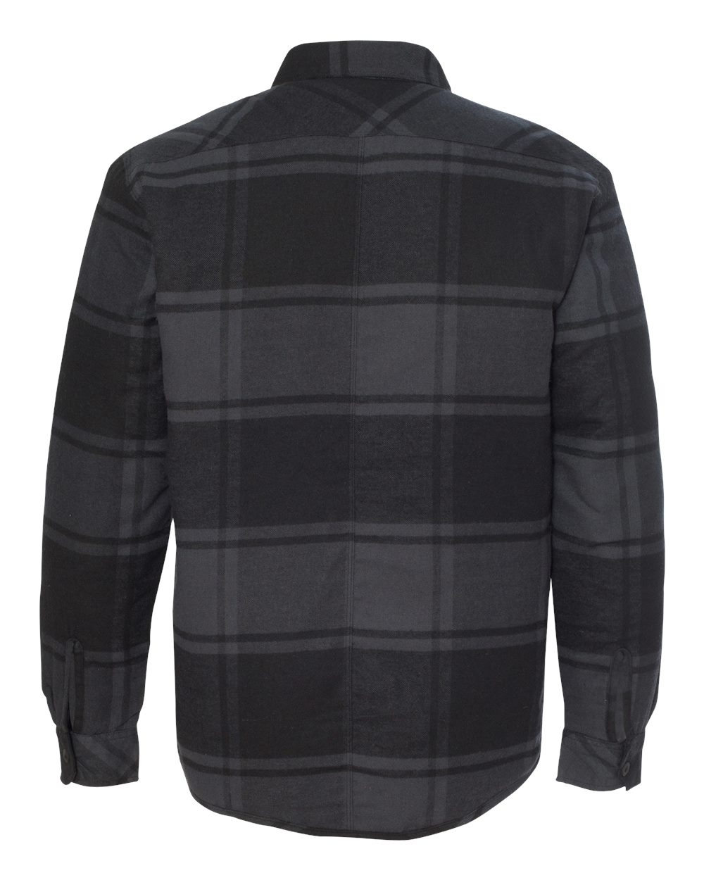 Burnside-Mens-Quilted-Flannel-Jacket-Shirt-8610-up-to-3XL thumbnail 7