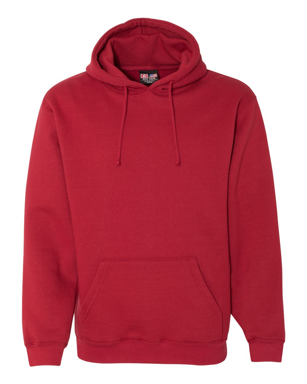 Bayside-Mens-Blank-USA-Made-Hooded-Sweatshirt-960-up-to-6XL miniature 9