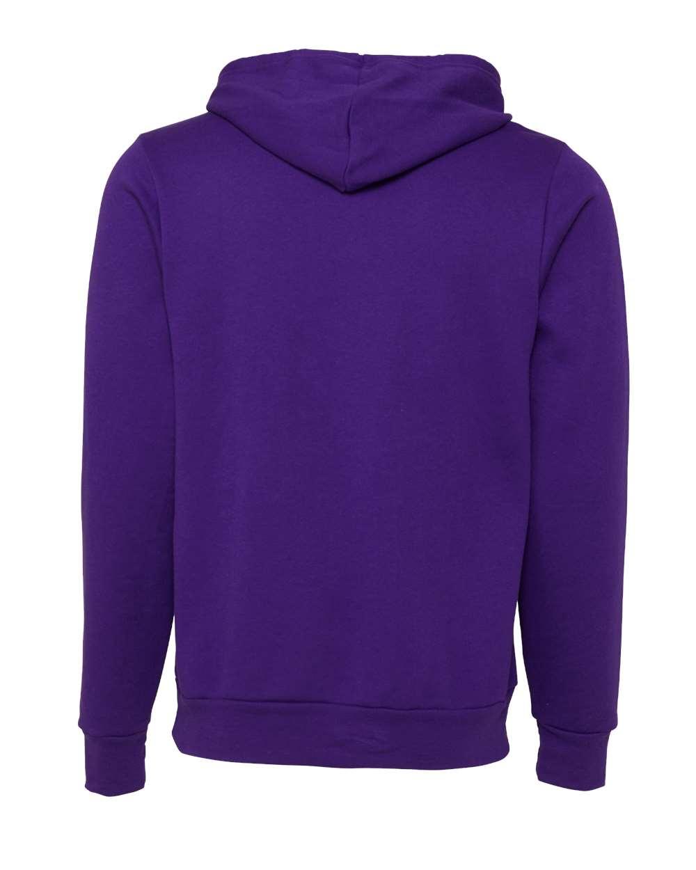 Bella-Canvas-Unisex-Sponge-Hooded-Pullover-Sweatshirt-Blank-3719-up-to-2XL thumbnail 96