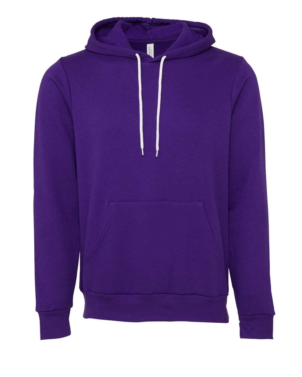 Bella-Canvas-Unisex-Sponge-Hooded-Pullover-Sweatshirt-Blank-3719-up-to-2XL thumbnail 95