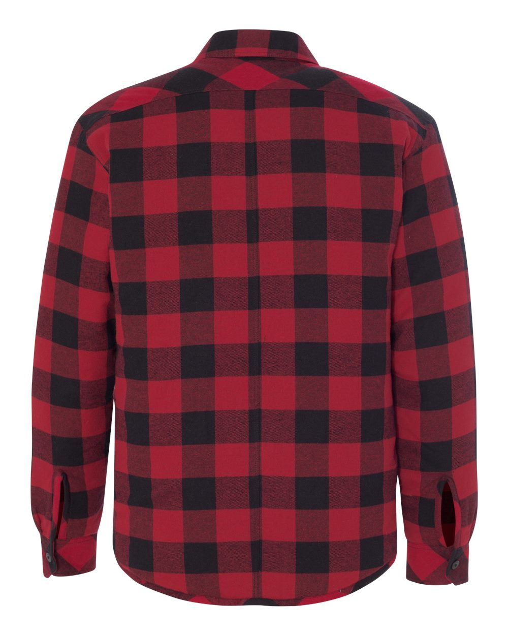 Burnside-Mens-Quilted-Flannel-Jacket-Shirt-8610-up-to-3XL thumbnail 10